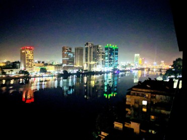 Because Cairo at night.